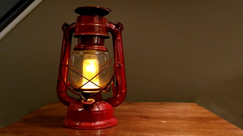 Converting an old oil lamp to LED